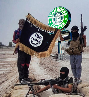 ISIS has taken down a Starbucks in Baghdad