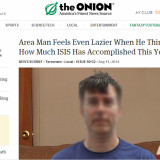 Onion Article leads to threats from ISIS against men named Kevin McDouglas