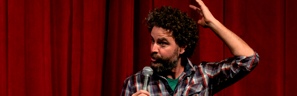 Ryan Singer at the 2014 Cape Fear Comedy Festival