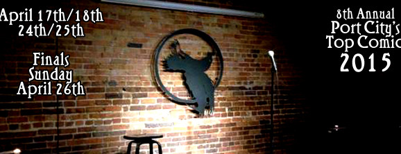 8th Annual Port City's Top Comic Now Reserving Spots